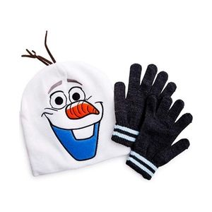 Disney Frozen 2  Kids Olaf hat and gloves set